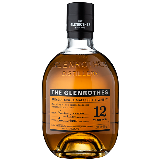 Whisky Single Malt The Glenrothes 12 anos